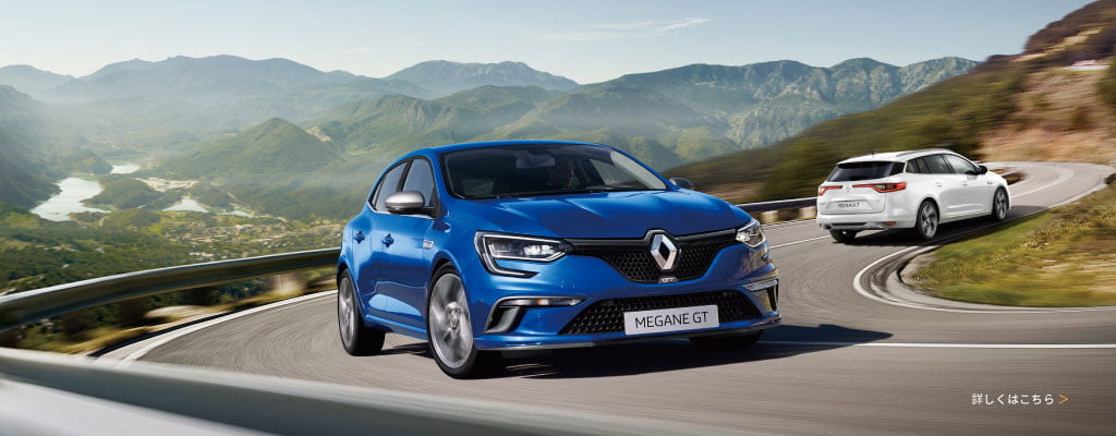 All New Renault MEGANE Debut