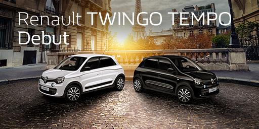 Renault TWINGO TEMPO Debut