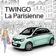Renault TWINGO La Parisienne Debut.