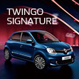 Renault TWINGO SIGNATURE Debut.