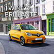 Renault TWINGO BRILLANTE Debut.