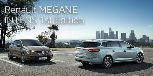 Renault MEGANE INTENS 1st Edition Debut.